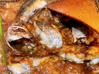 红烧鱼块,烧入味