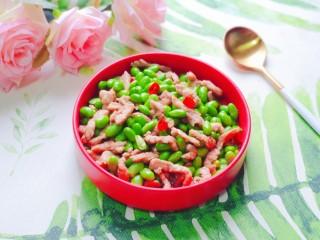 毛豆炒肉丝