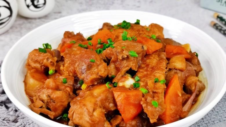 新疆大盘鸡,宝贝说和外面吃的一样耶,大盘鸡~下饭神器。