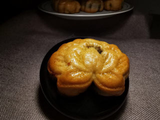 陈皮豆沙广式月饼