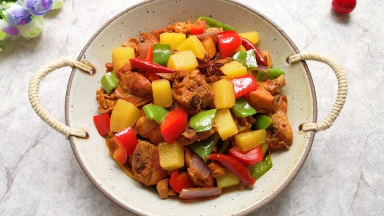 新疆大盘鸡,好吃又下饭的大盘鸡。
