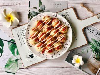 剩饭新吃法,可爱的火腿香葱小饭团,像极了章鱼小丸子!