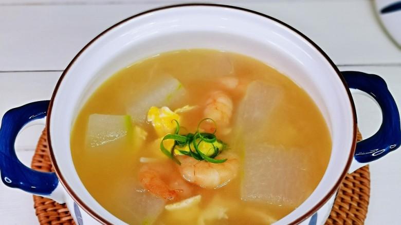 冬瓜鸡蛋汤,简单快手零失败,秋冬季滋补汤,好吃营养均衡。