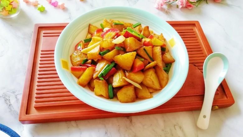红烧土豆,太好吃了!