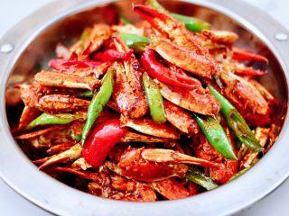 酱香麻辣蟹腿,酱香味十足。