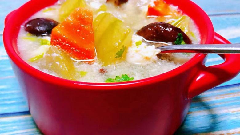 冬瓜鸡蛋汤,冬瓜入口即化混搭蛋香口感一级棒