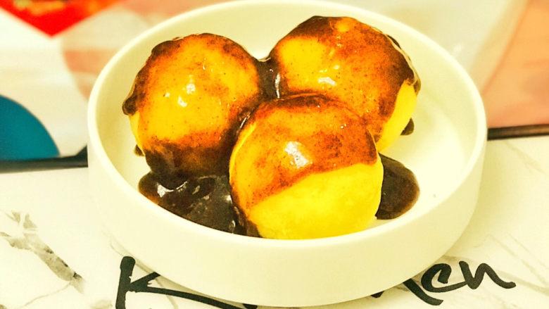 黑胡椒土豆泥,口感有浓郁的黑胡椒味,微辣细腻