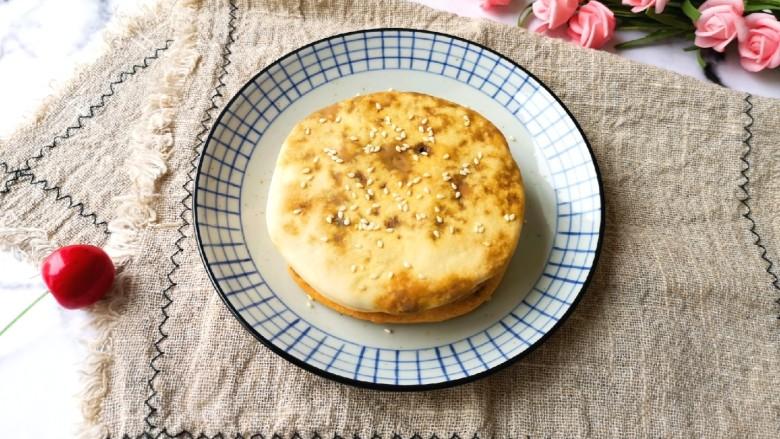 梅干菜烧饼,酥酥脆脆!