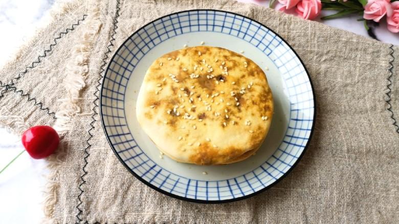 梅干菜烧饼,家里人都说好吃。