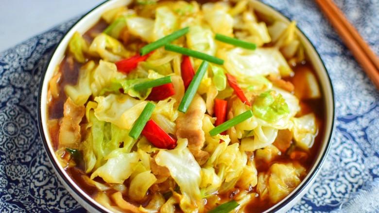 干锅包菜,成品图二