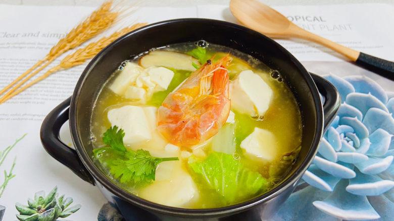 白菜豆腐汤,白菜豆腐汤低脂又鲜美!