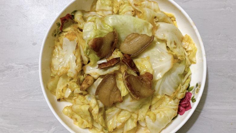 干锅包菜,没有干锅一样可以得到的干锅包菜!