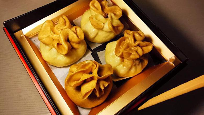 梅干菜肉包,美美哒的食盒,提走吧