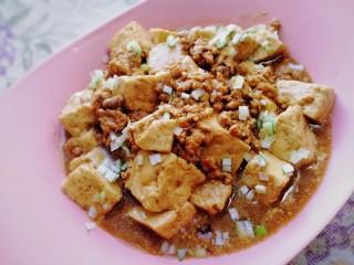 肉末炖豆腐,鲜,香,嫰,滑,拌米饭无敌了。