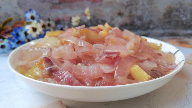 洋葱炒肉片,成品图1