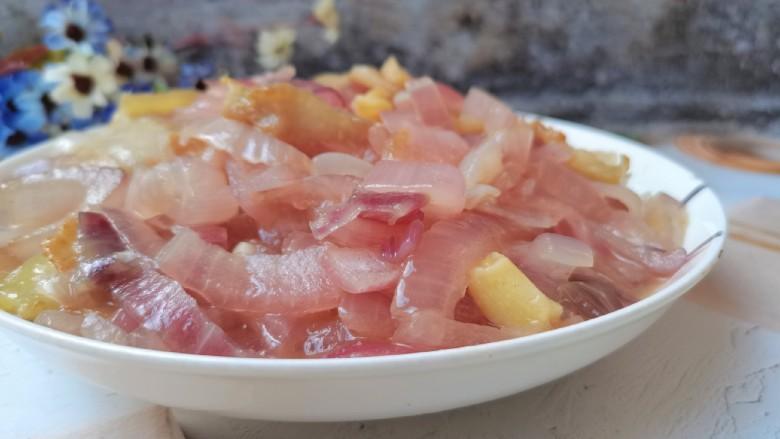 洋葱炒肉片,成品图2