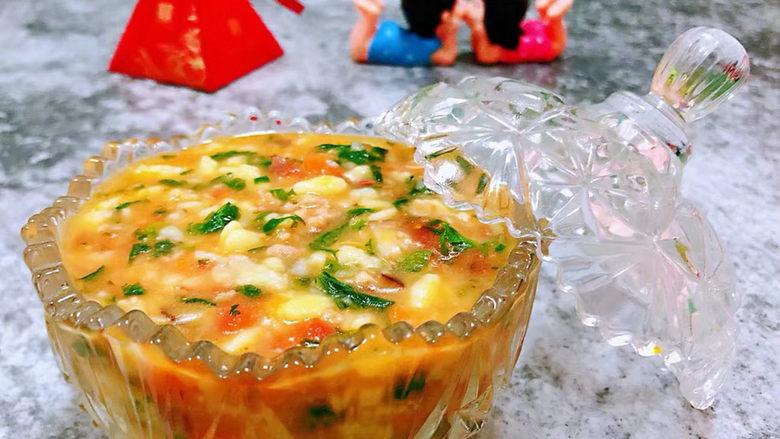 西红柿面疙瘩,这道疙瘩汤的营养价值非常丰富经常食用对身体有益