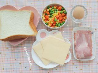 發現吐司新吃法!2款超好吃的吐司杯,早餐又有新花樣啦~,準備好食材~