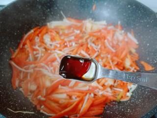 蚝油金针菇,加点蚝油提鲜。