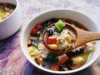 山藥芙蓉湯,健脾養胃,鮮香美味。