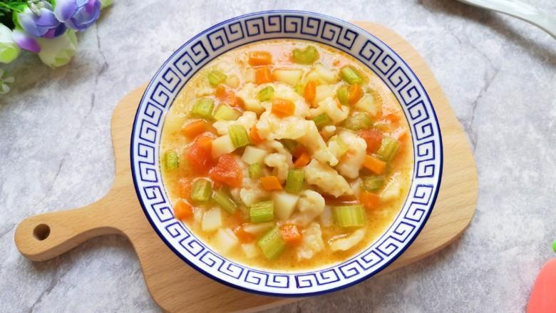 西红柿面疙瘩,好吃又解馋的家乡小吃。
