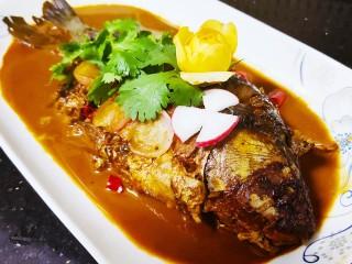 紅燒魚,一道好吃的紅燒魚就做好了