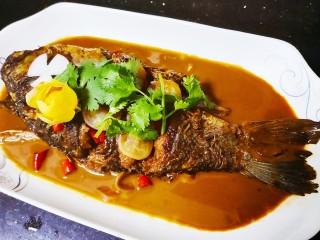 红烧鱼,成品图