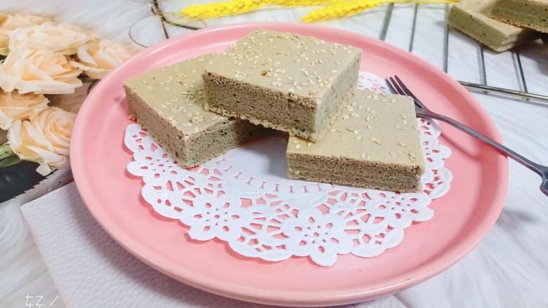 紫薯米粉蛋糕