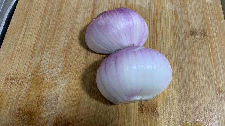 尖椒土豆片,剥去外皮