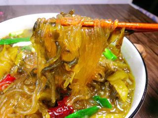 酸菜燉粉條,超級好吃
