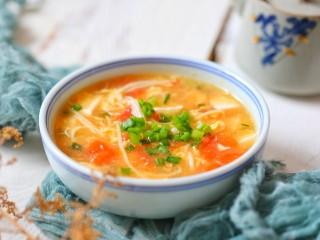 番茄豆腐湯,成品圖一