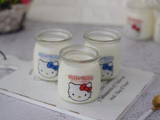 手工酸奶,成品圖