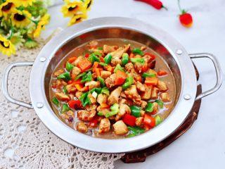 蚝油双椒鸡丁