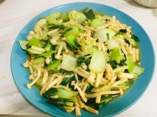 油菜白玉菇