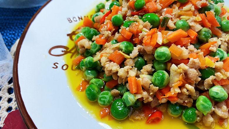 清炒甜豆➕肉末胡萝卜炒豌豆,这道小菜做法简单,嫩嫩的豌豆搭配肉末胡萝卜,营养均衡,健康美味,喜欢的小伙伴们快来试试吧😄