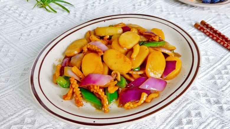 魷魚炒年糕