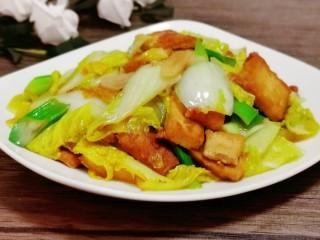 白菜炒豆腐