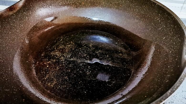 白菜炒豆腐,起锅烧油,一定要热锅