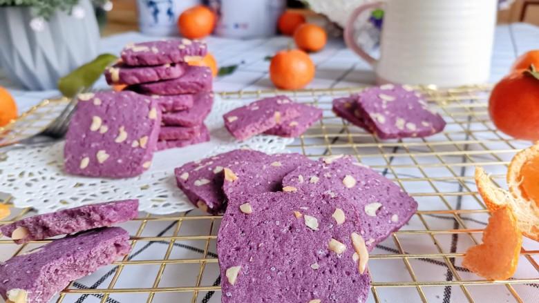 紫薯花生饼干🍪