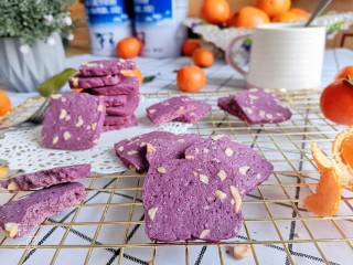 紫薯花生饼干🍪,成品图!