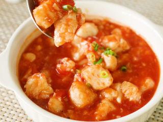 番茄龙利鱼,鱼肉滑嫩,酸甜开胃!