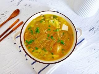 白菜粉丝汤,分分钟就光盘。
