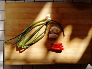 白菜炒豆腐,剁佐料