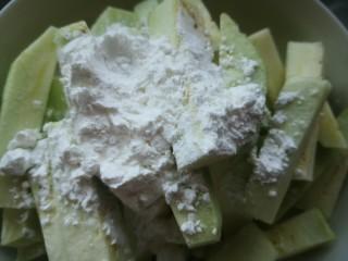 茄子炖土豆,放适量淀粉
