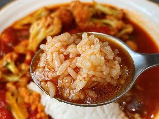 开胃番茄花菜,拌米饭真的是绝了!