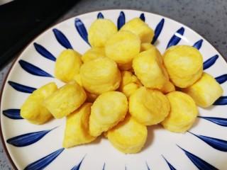 虾仁日本豆腐,盛出备用