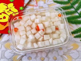 糖醋白萝卜