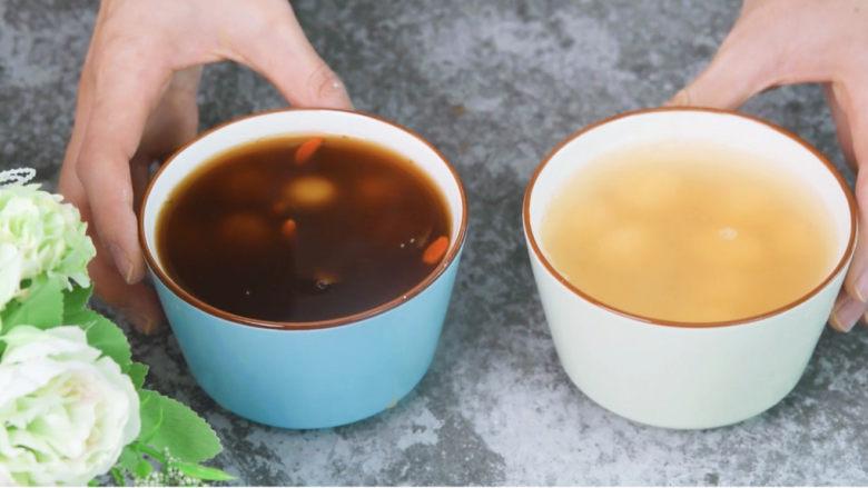 南瓜汤圆,加上蜂蜜,美味的蜂蜜南瓜汤圆就做好啦