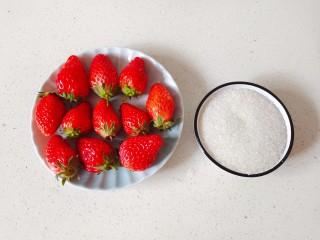 草莓糖葫芦,准备新鲜的草莓