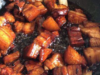 红烧肉,搅拌均匀